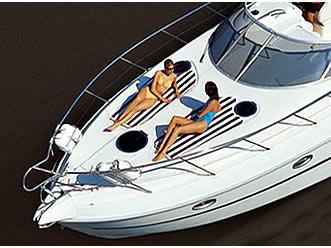 Luxury Hen Party Motor Yacht Charter in Benidorm